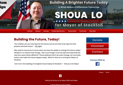 Shoua Lo for Mayor