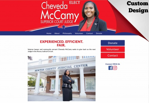 Cheveda McCamy for Judge