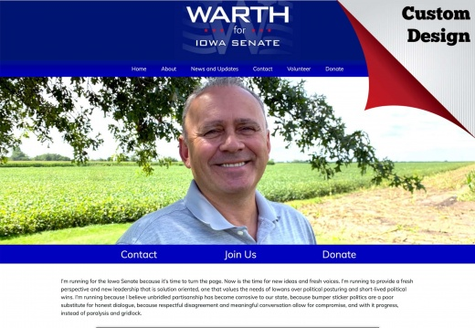Kevin Warth for Iowa State Senate