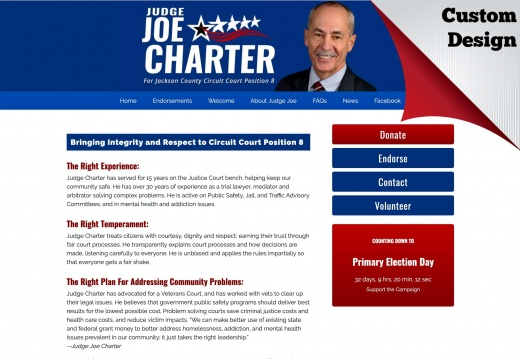 Judge Joe Carter for Circuit Court Position 8