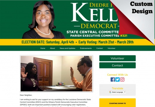 Diedre Pierce Kelly for Louisiana Democratic State Central Committee