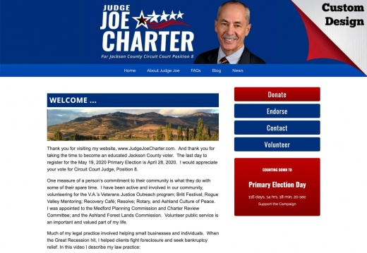 Judge Joe Charter for Jackson County Circuit Court Judge, Position 8