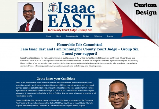 Isaac East for County Judge, Group Six