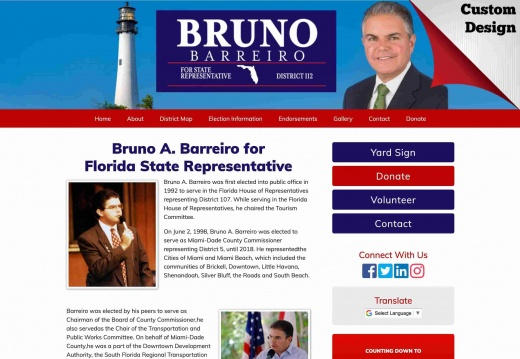 Bruno A. Barreiro for Florida State Representative