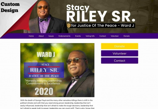 Stacy Riley Sr. for Justice of the Peace