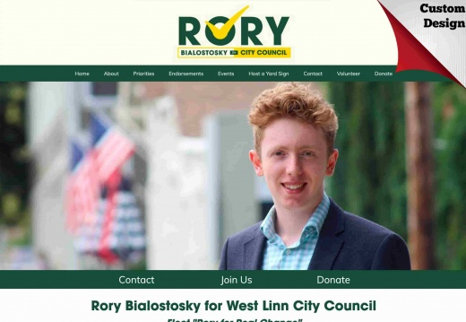 Rory Bialostosky for West Linn City Council