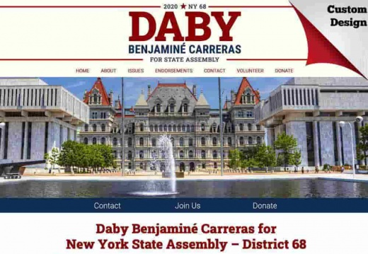 Daby Benjaminé Carreras for New York State Assembly – District 68
