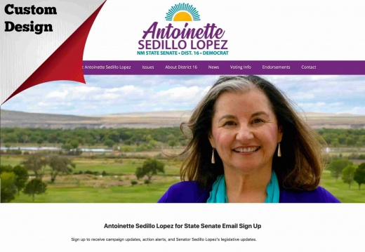 Antoinette Sedillo Lopez for NM State Senate, District 16