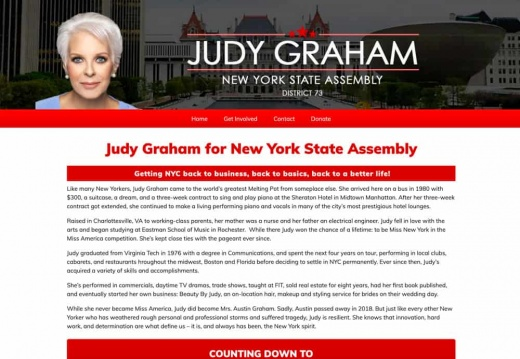 Judy Graham for New York State Assembly