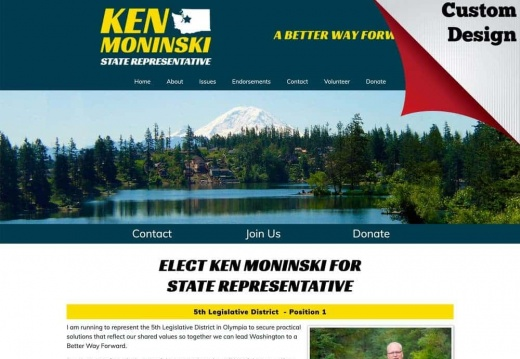 Ken Moninski for Washington State Representative