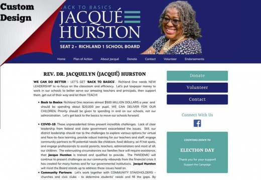 Jacqué Hurston For Richland One School Board - Seat 2