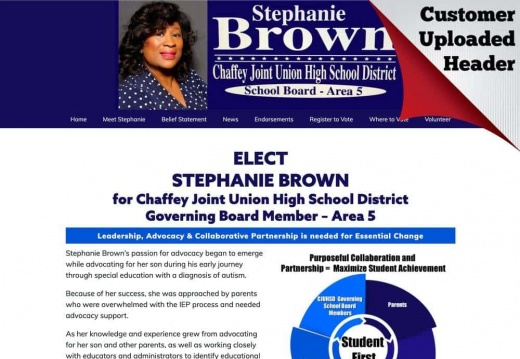 Stephanie Brown for Chaffey Joint Union High School District Governing Board Member – Area 5