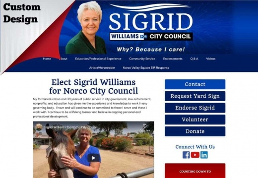 igrid Williams for Norco City Council