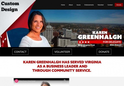 Karen Greenhalgh for Virginia House Delegate - 85th District