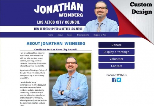 Jonathan D. Weinberg for Los Altos City Council