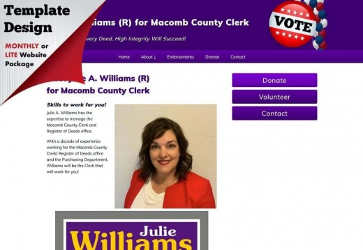 Julie Williams for Macomb County Clerk
