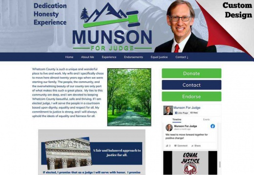 Carl Munson for Superior Court Judge, Dept. 4