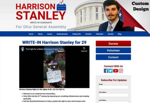 Harrison Stanley for Ohio General Assembly