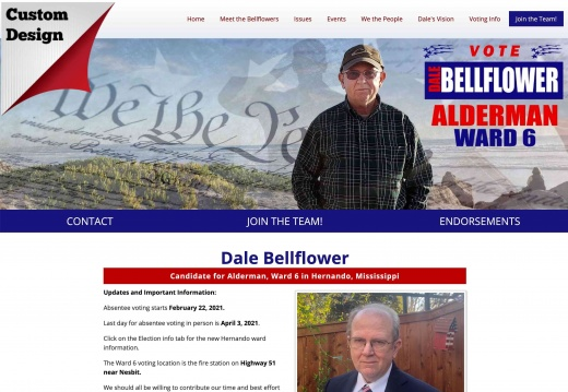 Dale Bellflower for Alderman