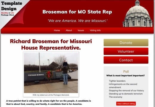 Richard Boseman for Missouri House of Representaives