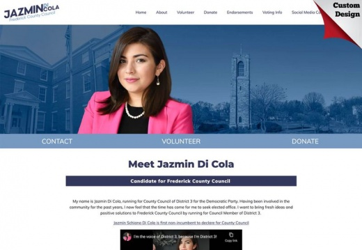 Jazmin Di Cola  for Frederick County Council