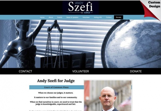 Andy Szefi for Judge