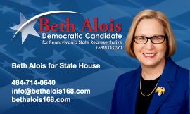 State representative campaign business card design colourmoves