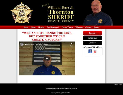 William Darrell Thornton Candidate for Smith County Sheriff.jpg
