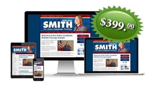Regular Campaign Website Package