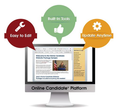 Political Website Features