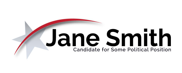 creating a state candidate campaign logo